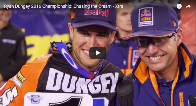 Final Chasing The Dream – Xtra Features Never Before Seen Footage From Dungey's Championship | SUPERCROSSLIVE.COM
