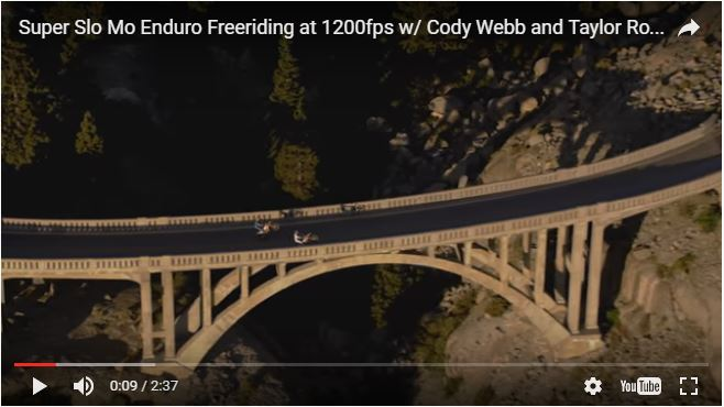DirtRider / SUPER SLO MO ENDURO FREERIDING WITH CODY WEBB AND TAYLOR ROBERT | RED BULL DONNER PARTYING | VIDEO