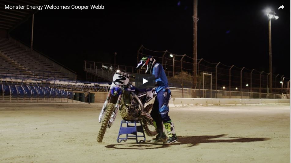 TransWorld Motocross / Monster Energy Welcomes Cooper Webb – video