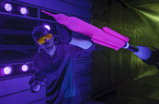 NASA / Wind Tunnel Testing Underway for Next, More Powerful Version of NASA's Space Launch System