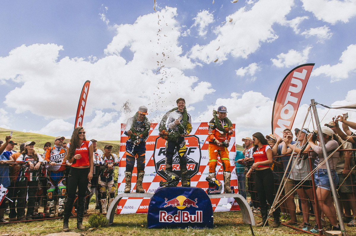 Enduro21 / JARVIS TAKES FOURTH ROOF OF AFRICA WIN