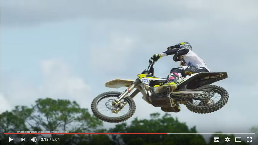 Motocross Action Magazine / Jason Anderson wide open at Baker's Factory